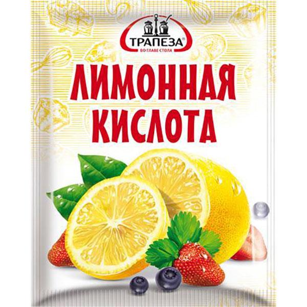 Лимонная кислота Трапеза 25 г