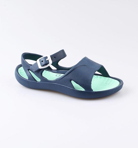 Купить Пляжная обувь Котофей для девочки р.37 725033-01 синий, Шлепанцы и сланцы детские