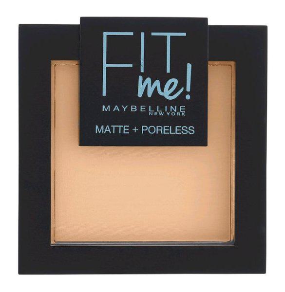 Купить Пудра Maybelline Fit Me Matte Poreless Powder 110 светло-кремовый 9 г, Maybelline New York