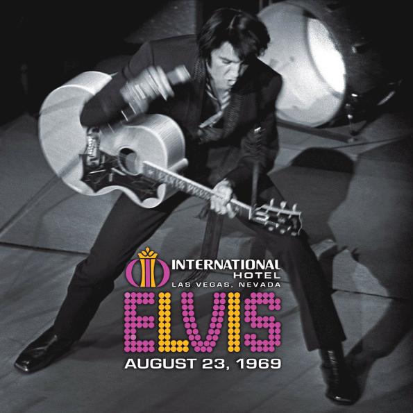 Elvis Presley Live At The International Hotel - Las Vegas, Nevada, August 23, 1969 (2LP)