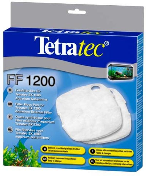Губка для внешнего фильтра Tetra FF FilterFloss L для ЕХ 1200, синтепон, 2 шт, 80 г