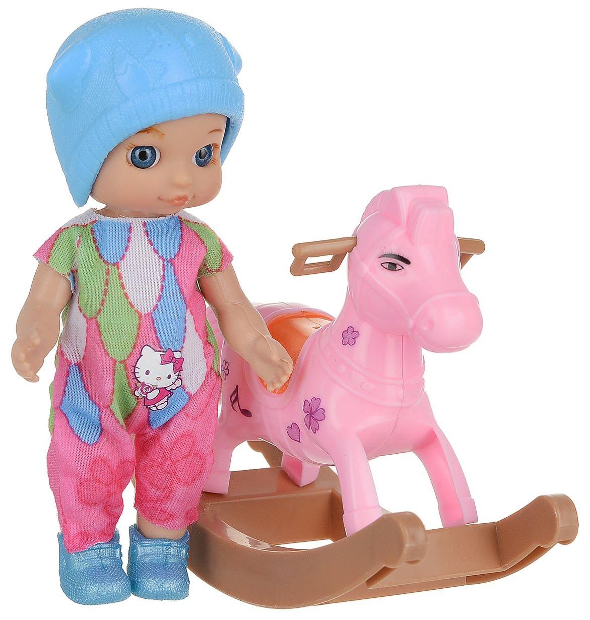 Купить Кукла Карапуз Hello Kitty 12 см, Без Звука, Классические куклы