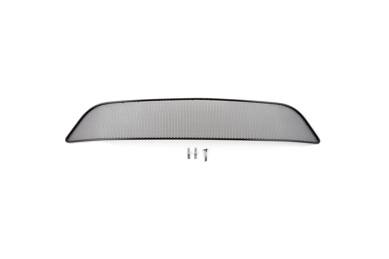 Сетка на бампер внешняя arbori для Renault Sandero Stepway 2014, черная, 10 мм