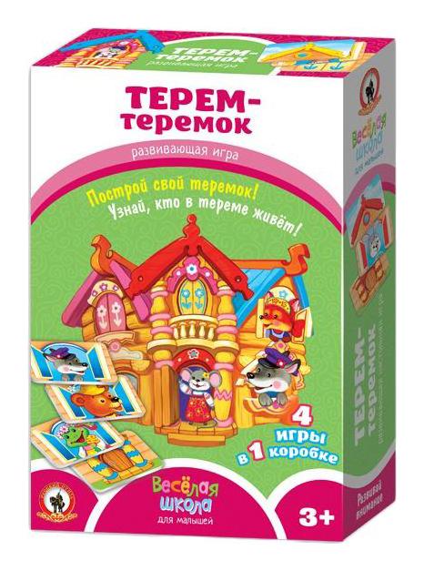 Игра настольная Русский стиль Терем теремок 02044/PC