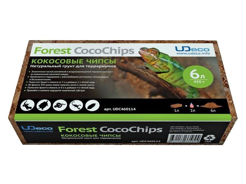 Субстрат для террариума UDeco Forest CocoChips 450г