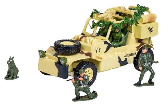Купить Радиоуправляемый военный джип MYX Field Vehicle 8019B, Радиоуправляемая спецтехника