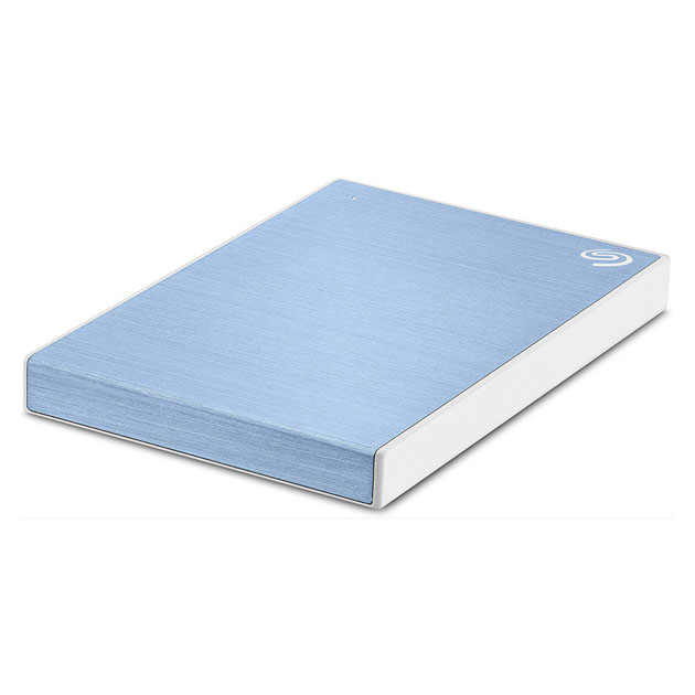 Внешний диск HDD Seagate Backup Plus Slim 1TB Blue (STHN1000402)