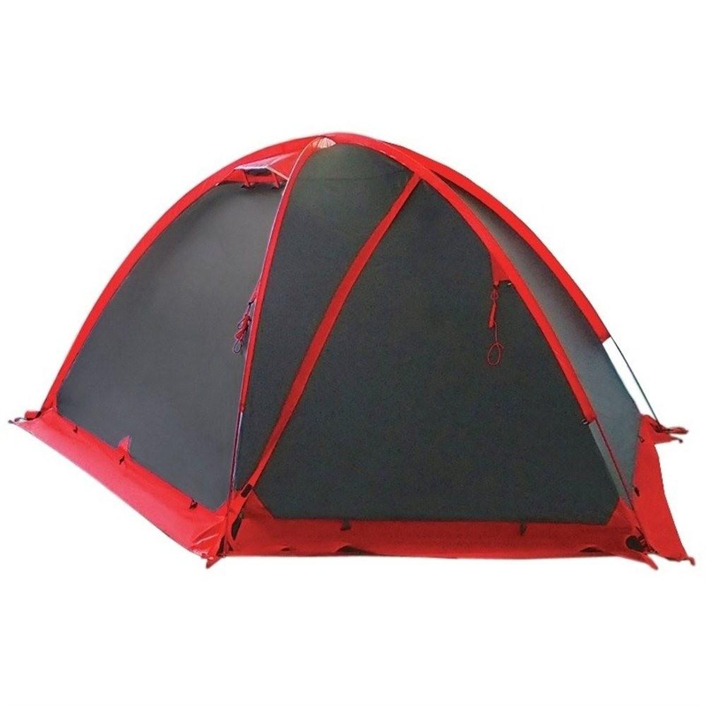 Палатка Tramp Rock 3 V2 серый Цвет серый