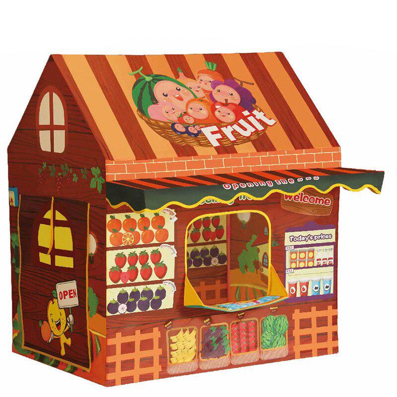 Палатка игровая НАША ИГРУШКА Фруктовый магазин HF094, Наша игрушка, Игровые палатки  - купить со скидкой