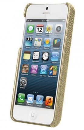 Чехол Vetti Craft Leather Snap Cover для iPhone 5/5S/SE Khaki