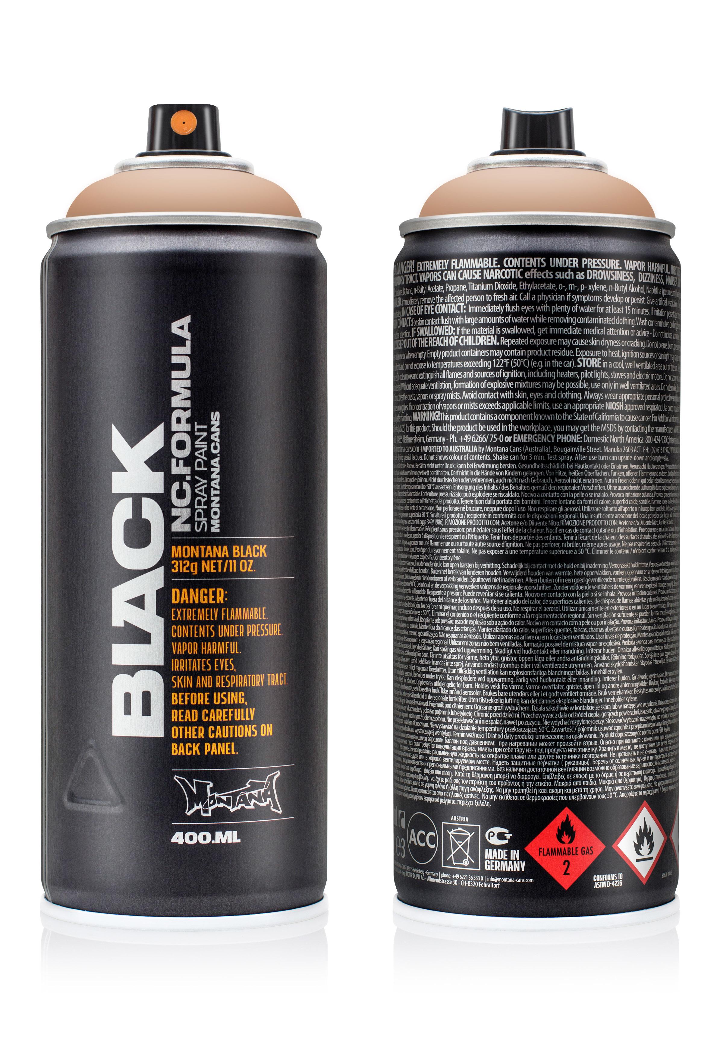 Аэрозольная краска Montana Black Cremino 400 мл