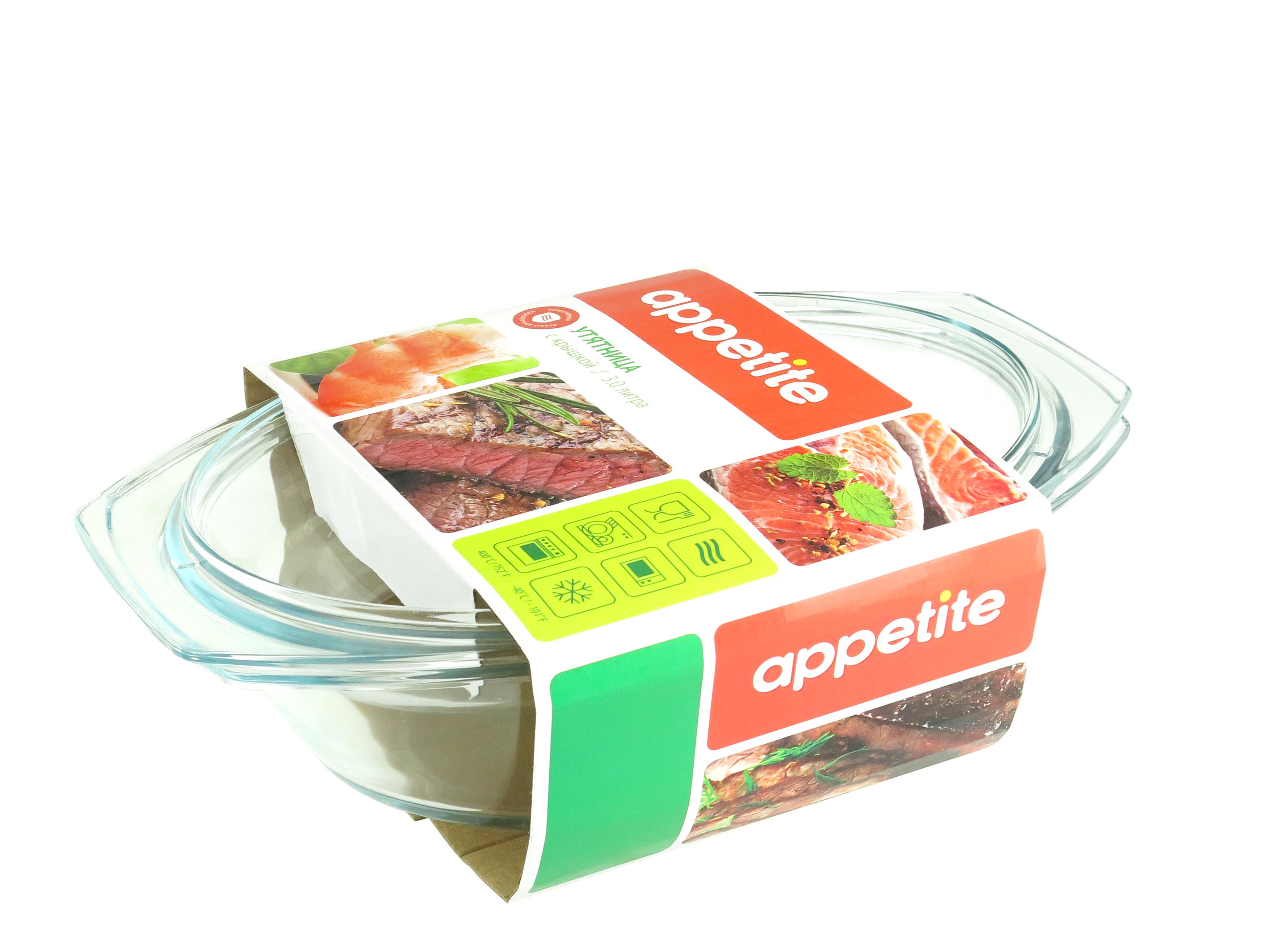 Утятница TM Appetite PL18 3 л