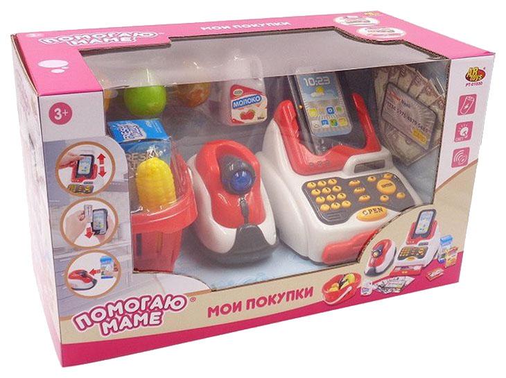Касса игрушечная ABtoys Помогаю маме PT-01030 фото