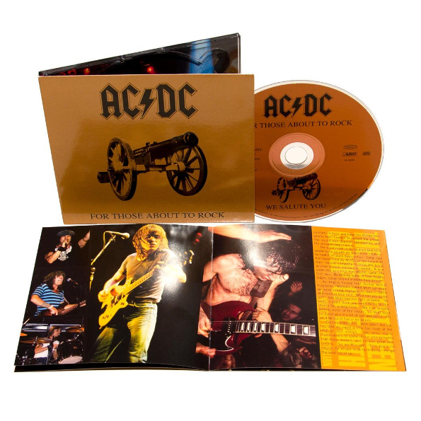 Аудио диск AC DC / For Those About To Rock - We Salute You (Remasters Edition)(CD)