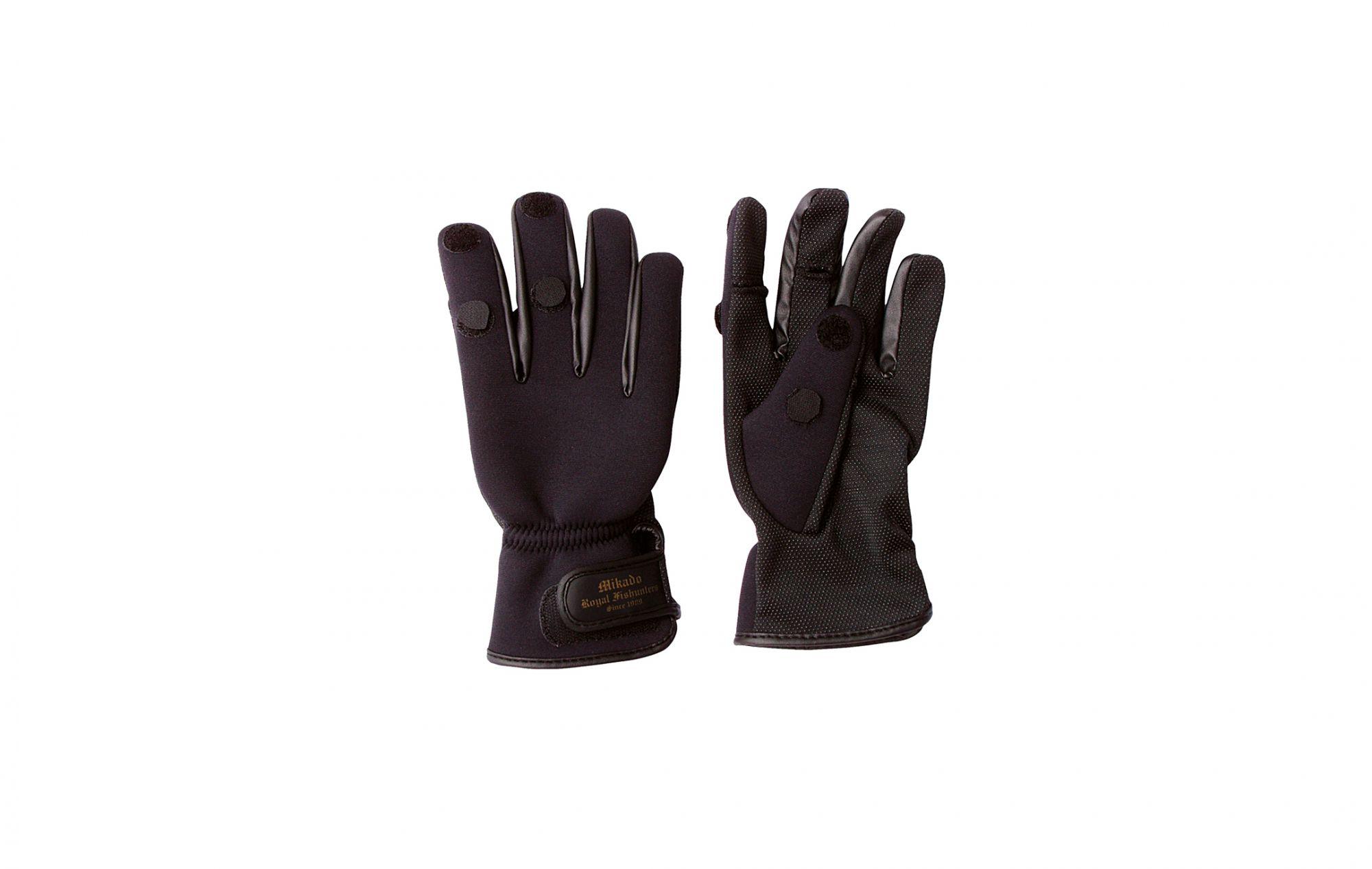 Перчатки мужские Mikado UMR-02, черные, L
