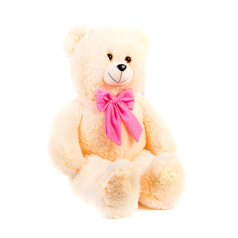 Купить Мягкая игрушка Медведь с бантом малый 70 см Нижегородская игрушка См-610-5, Мягкие игрушки животные