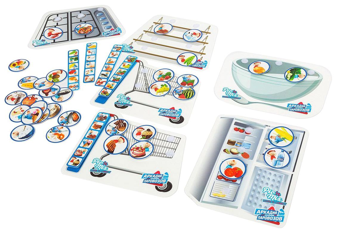 Купить Семейная настольная игра Pic'nMix Аркадий Паровозов Продукты 116024, Pic'nMix,
