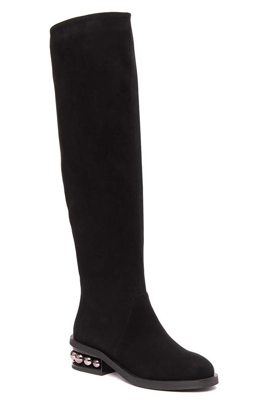 Женские сапоги Vitacci 183926 черные 35