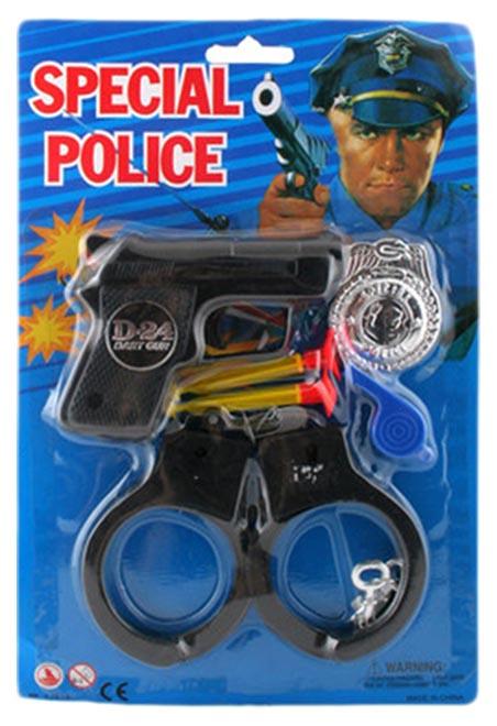 Купить Набор полицейского Special Police 215/6, NoBrand, Детские наборы полицейского