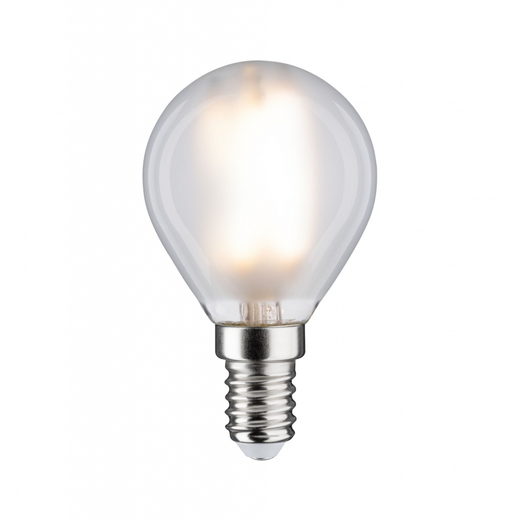 Светодиодная лампа Капля 5 Вт E14 Белый матовый Нейтральный белый Диммируемая 28728