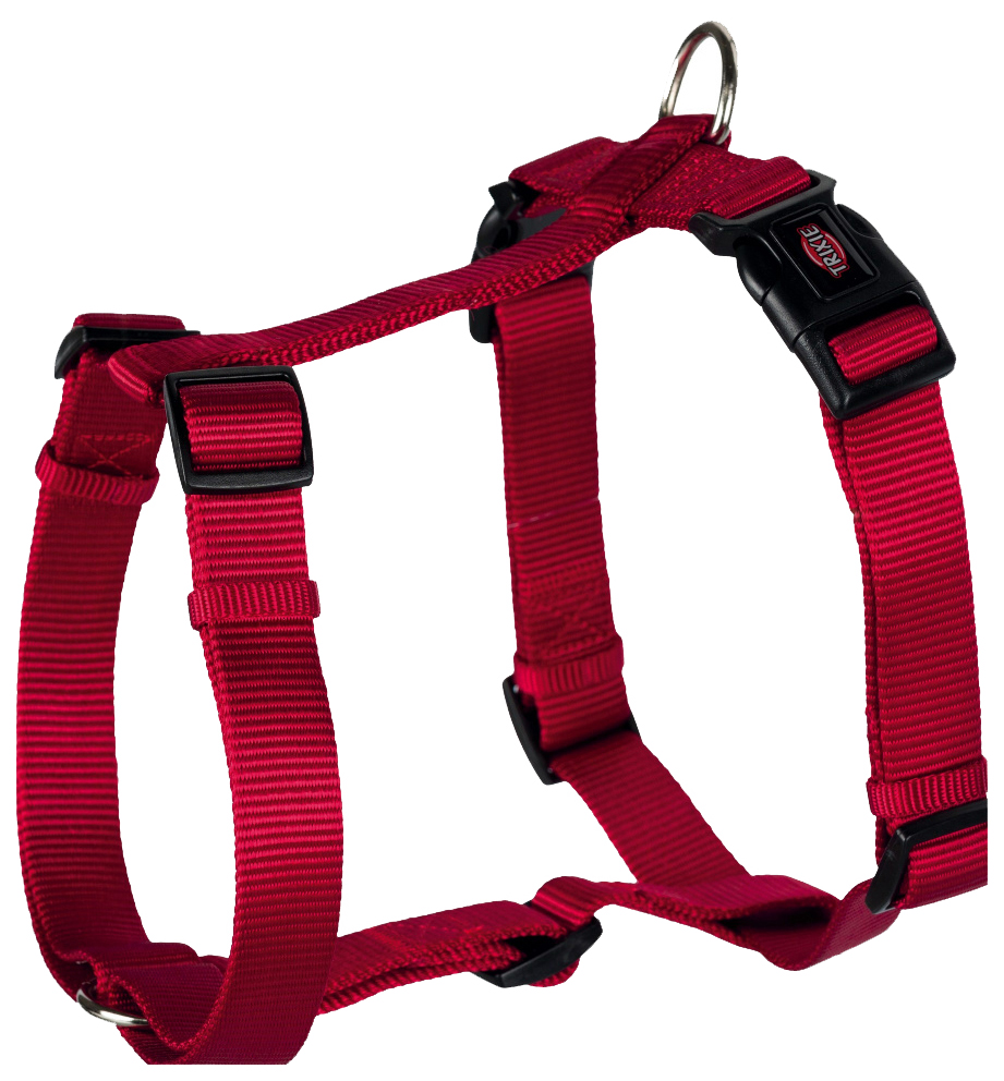 Шлейка для собак TRIXIE PREMIUM, размер XS – S, 30–40 см/10 мм, красная, Trixie