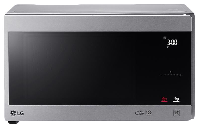 Микроволновая печь соло LG MS2595CIS silver/black фото