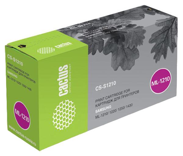 Картридж для лазерного принтера Cactus CS-S1210 черный