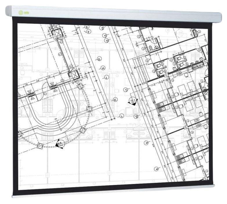Экран для видеопроектора Cactus Wallscreen CS-PSW-104x186 Белый фото