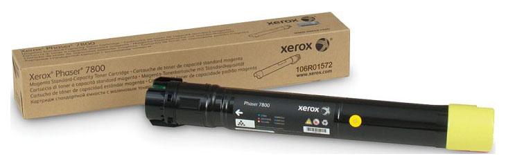 Картридж для лазерного принтера Xerox 106R01572, желтый, оригинал фото