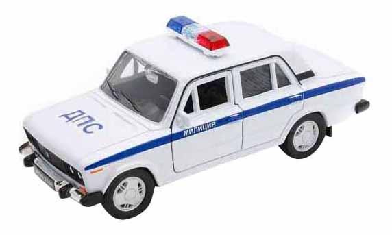 Купить Модель машины Welly 42381PB 1:34-39 LADA 2106 Милиция ДПС, Спецслужбы