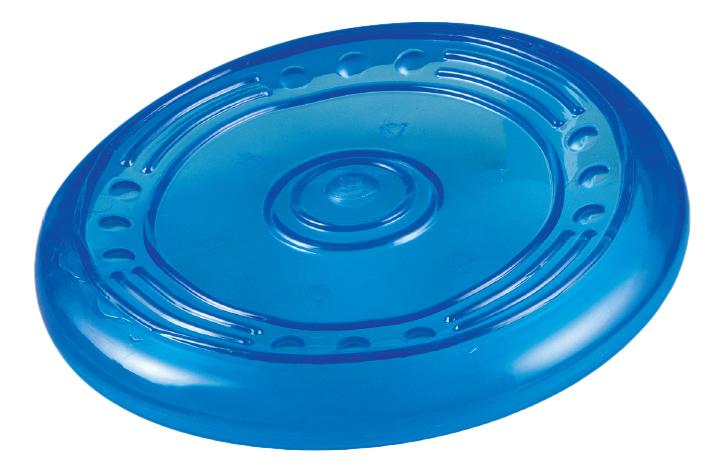 Фрисби для собак Petstages ОРКА летающая тарелка, голубая, 22 см