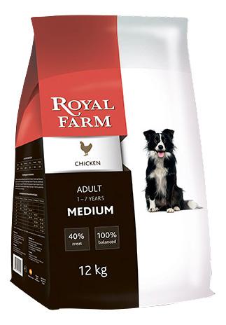Сухой корм для собак ROYAL FARM Adult