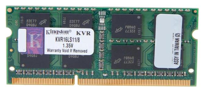 Модули памяти KINGSTON KVR16LS11/8