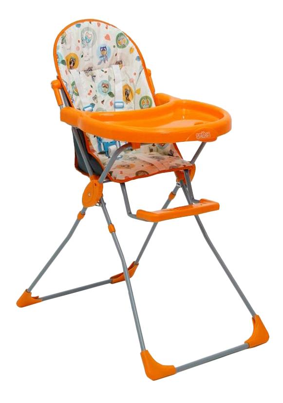 Купить Стульчик для кормления Selby Фея Стульчик Для Кормл, Selby 152 Оранжевый, Совы, Стульчики для кормления