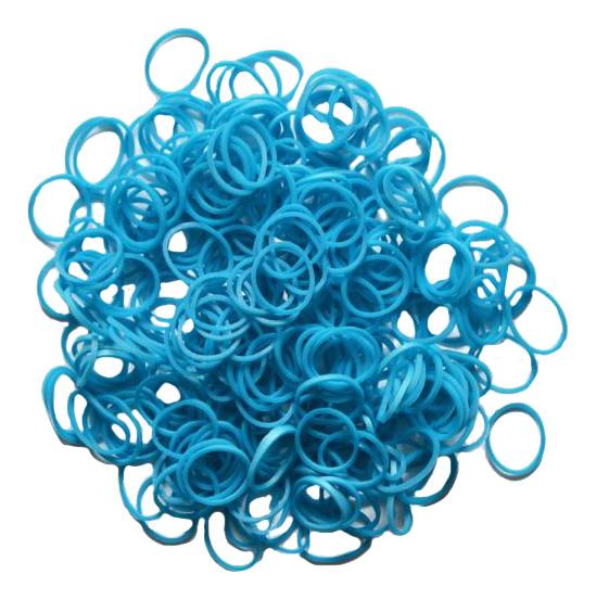 Плетение из резинок Rainbow Loom Metallic Blue