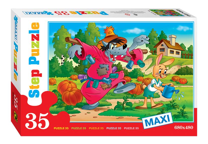 Купить Пазл Step Puzzle Maxi Ну погоди! 35 элементов, Пазлы