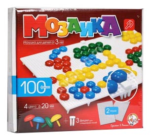 Мозаика Детская Игра Десятое Королевство Мозаика 100 Фишек фото