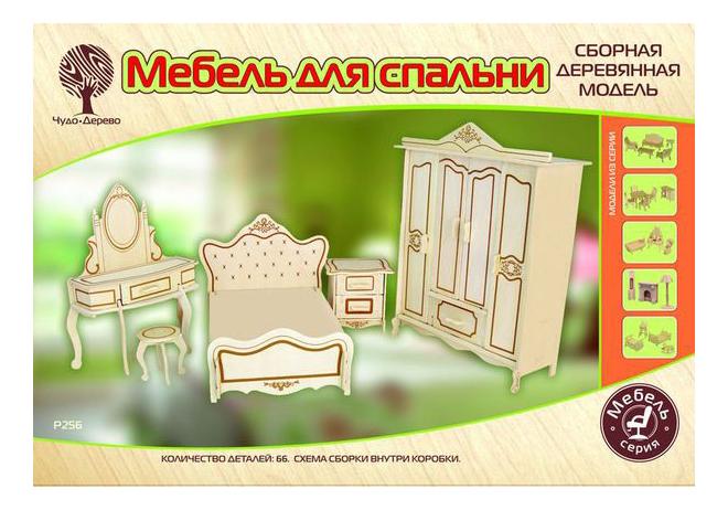 Мебель для кукольного дома Чудо Дерево Мебель