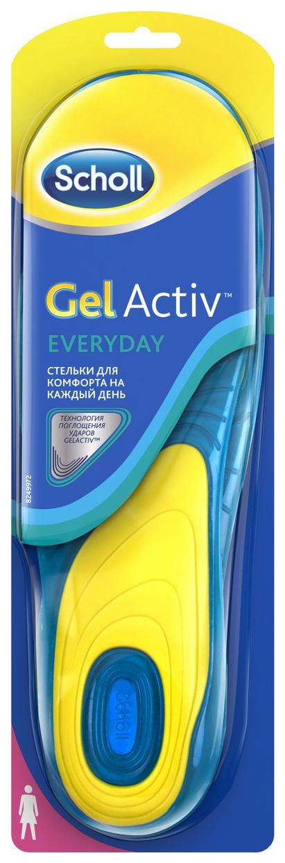 Купить Стельки для обуви Scholl gelactiv everyday для женщин р.35-40