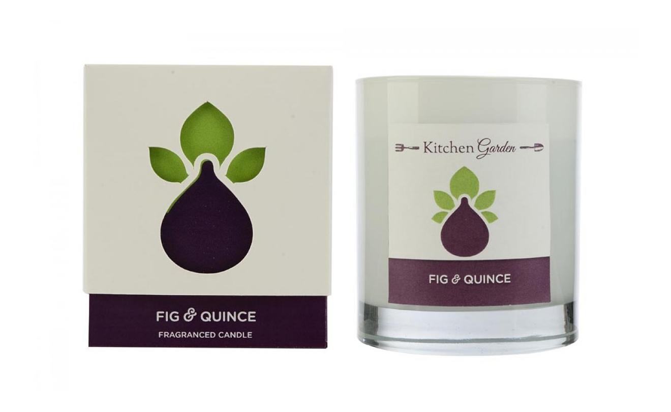 Ароматическая Wax Lyrical свеча Kitchen Garden Инжир и айва KG0302 фото