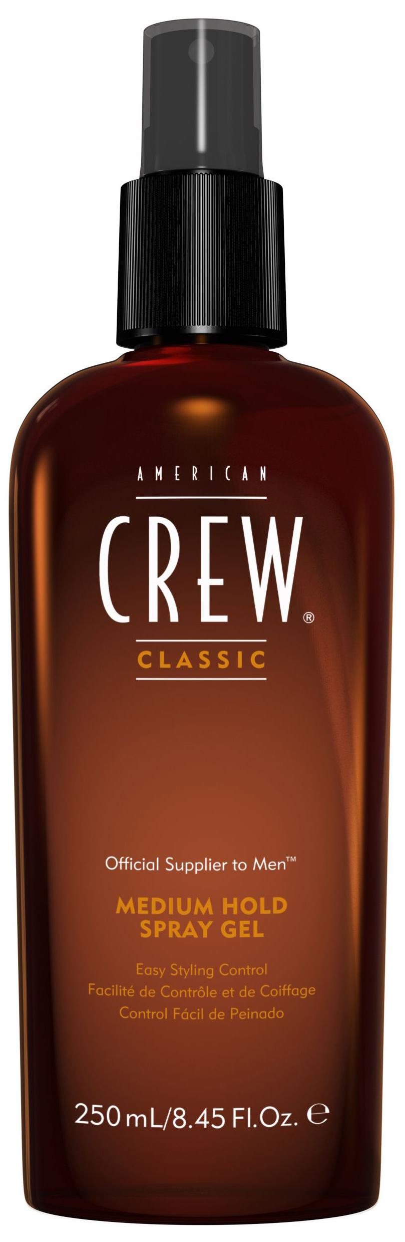 Спрей гель для волос American Crew средней фиксации