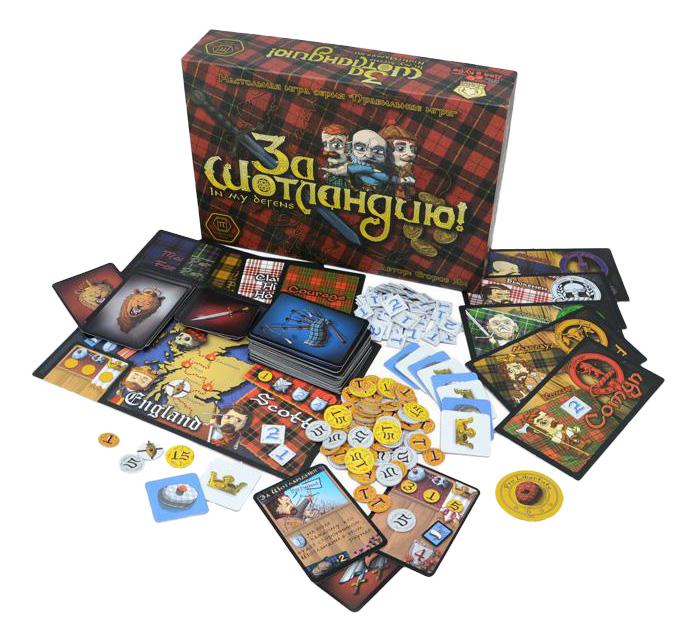 Купить Семейная настольная игра Правильные игры За Шотландию!, Правильные Игры, Семейные настольные игры