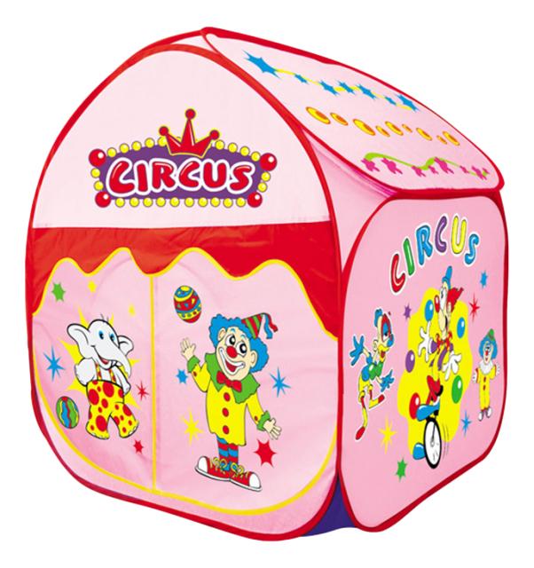 Игровая палатка Yongjia Большой цирк розовый