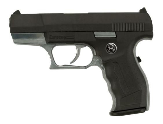 Купить Пистолет игрушечный Euro-Cop, 16, 5 см, Sohni-Wicke, Игрушечные пистолеты