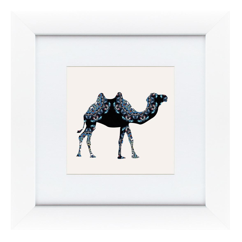 Картина Картины в Квартиру Восточная яркость, верблюд 35 х 35 см фото