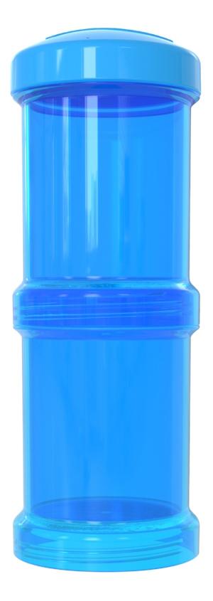 Контейнер с крышкой для хранения продуктов Twistshake Синий 2 шт. 100 мл