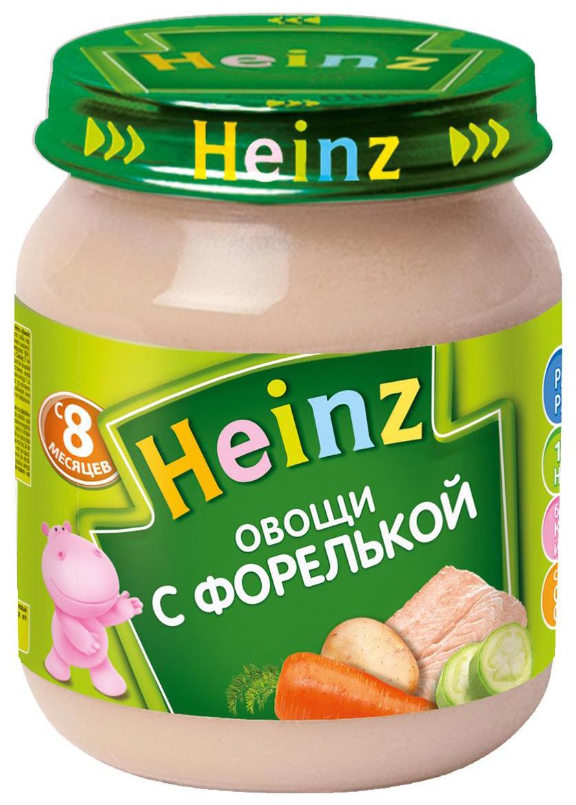 Пюре Heinz Овощи с форелькой с