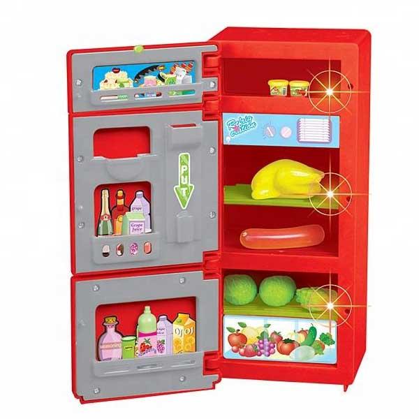 Холодильник игрушечный Shantou Gepai 14006, Детская кухня и аксессуары  - купить со скидкой