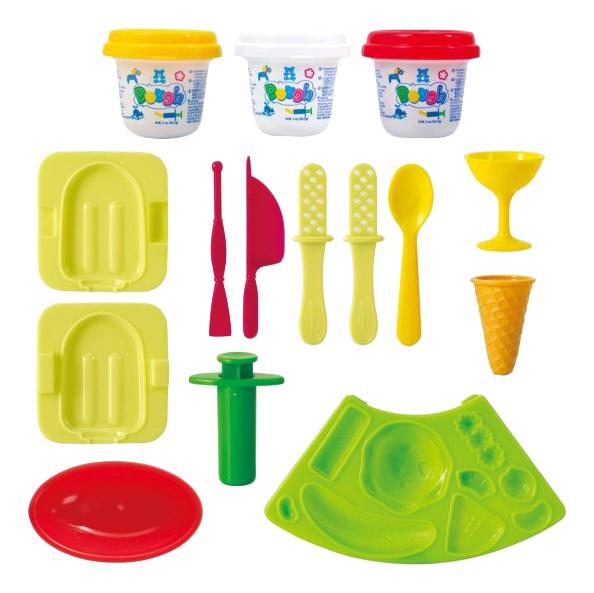 Набор для лепки из пластилина Playgo Мороженое