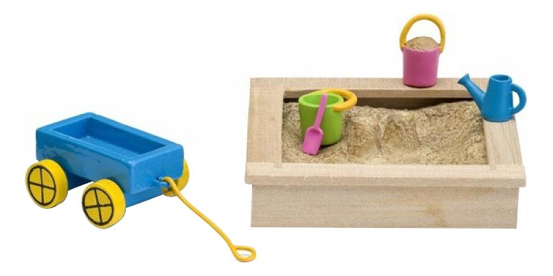 Смоланд Песочница с игрушками LB_60509600 для домиков Lundby фото